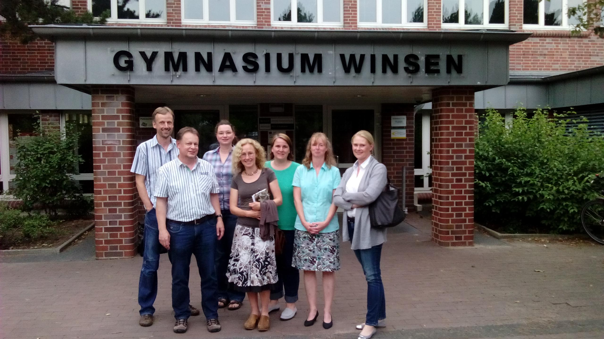 Schulverein Vorstand Juli 2014